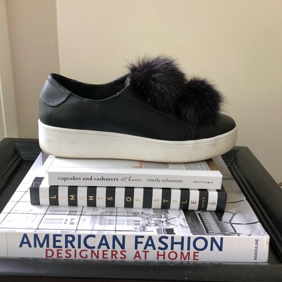 Steve Madden Shoes Pom Pom Sneakers Poshmark